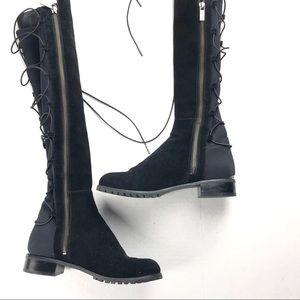 Michael Kors Suede Knee Boots